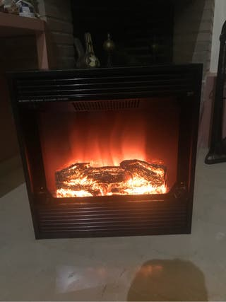 Calentador electrico chimena
