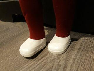 zapatillas blancas nancy años 80