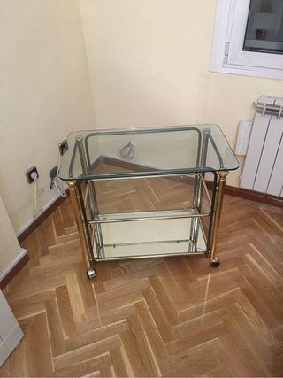 Mesa television cristal