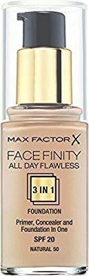 Max tactor facefinity 3 in 1 cejas pestañas
