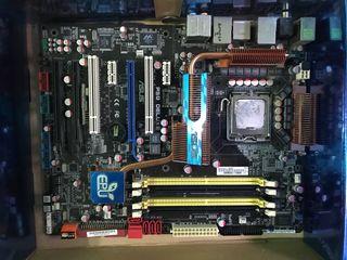 Torre gaming y componentes