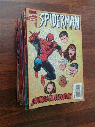Spiderman vol.5 Forum completo lomo rojo