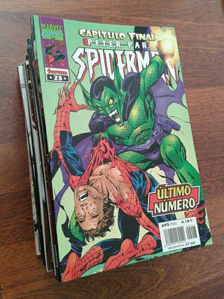 Peter Parker Spiderman vol.4 Forum lomo negro
