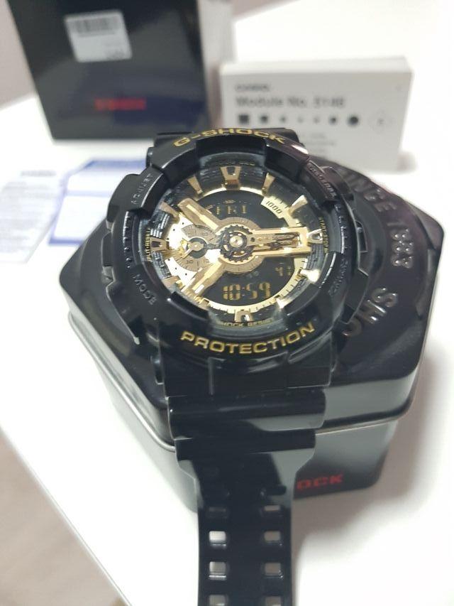 Casio g-shock negro y dorado serie exclusiva de segunda mano por 80 ... 88987fdcb