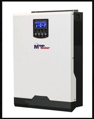 Kit solar 8 paneles +inversor 24v/2500wmppt regula
