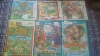 URGE juegos varios 3ds Wiiu Wii