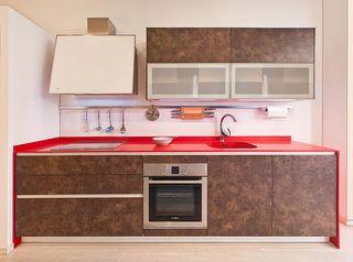 cocina de exposición