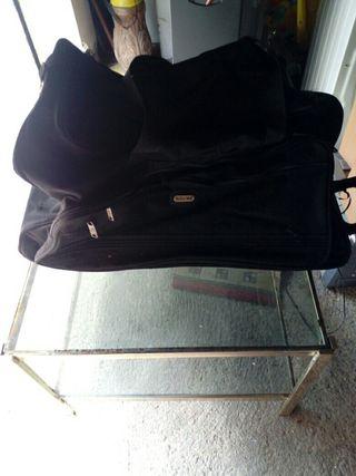 bolso maleta cmo nuevo con ruedas y ansa ,