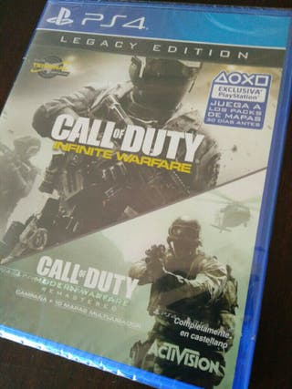 Call of Duty Infinite Warfare + Modern Warfare