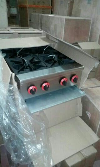 cocina a gas 4 fuegos sobremesa nuevas