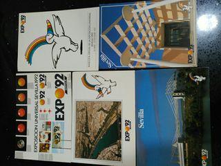 postales expo Sevilla 92