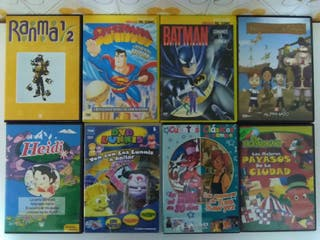 Lote de películas infantiles DVD