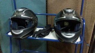 2 Cascos moto HJCMAX SHADOW se venden por separado