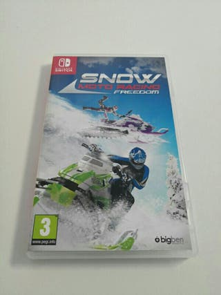 snow moto racing nintendo switch
