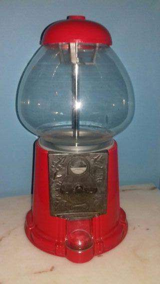 máquina antigua de chicles