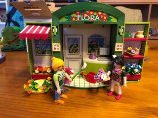 Tienda flores playmobil
