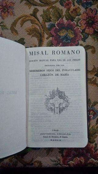 Misal Romano.