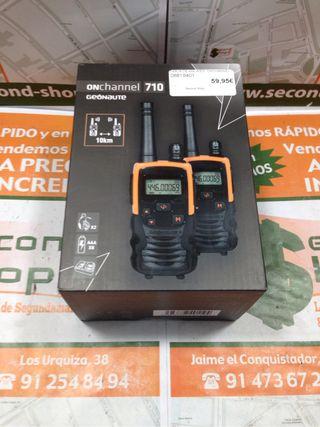 Pareja walkie-talkie Geonate Onchannel 710
