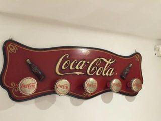 Perchero de coca-cola
