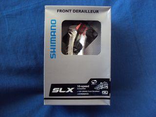 NUEVO Desviador Shimano SLX Dual baja Bicicleta