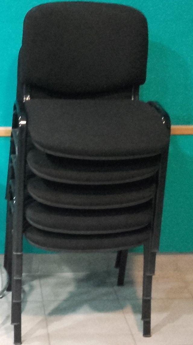 Sillas oficina sin ruedas de segunda mano por 125 € en Burriana en ...