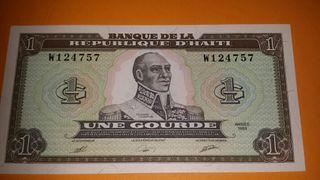 Billete de HAITI