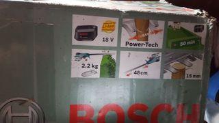 cortasetos de bateria bosch