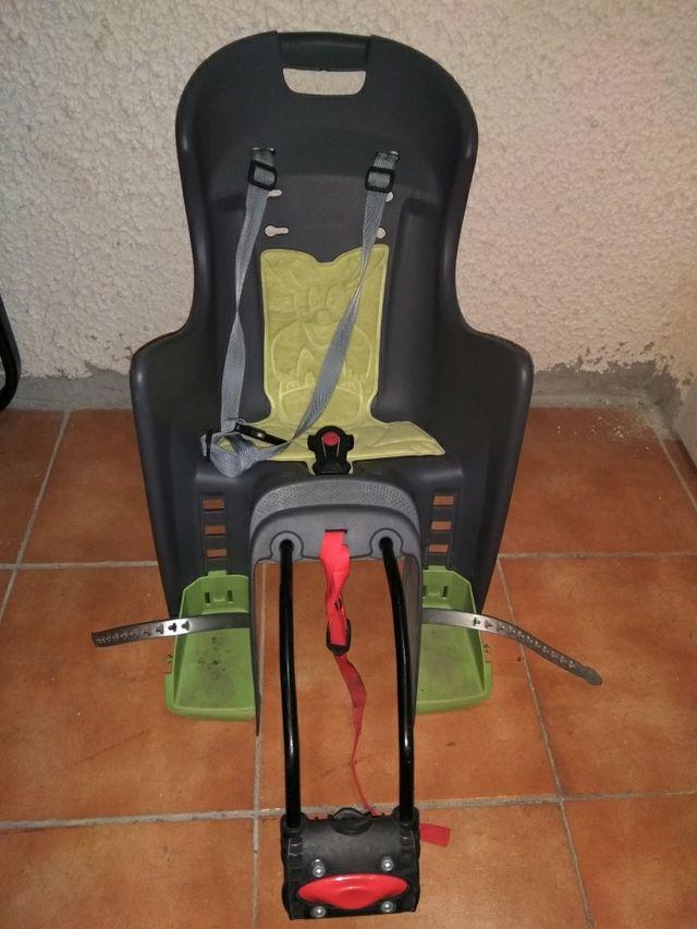Silla porta beb para bicicleta de segunda mano por 25 en valencia wallapop - Silla portabebes bicicleta ...