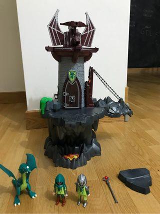 Playmobil mazmorra del dragon 4836