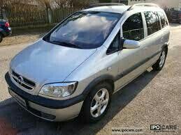 Vendo Opel zafira 2003 baratisima