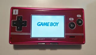 Gameboy Micro - Famicom Faceplate