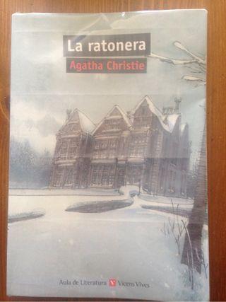 Libro la ratonera de Agatha Christie