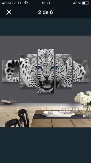 Laminas canvas 5 piezas decor