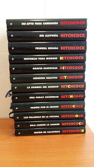 Colleccion libros de Alfred Hitchcock.