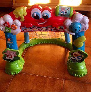 Portería interactiva Baby Clementoni