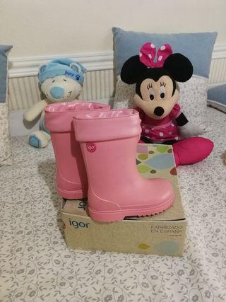 botas de agua niñas