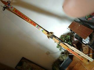 skis antiguos , ideal decoracion