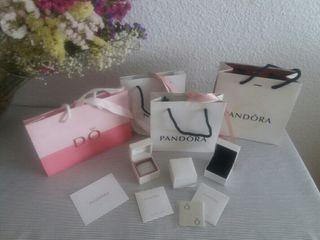 Caja y bolsa Pandora original