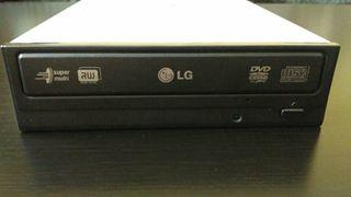 Regrabadora LG DVD+R DL