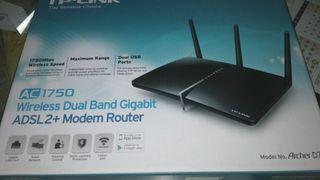 Modem-Router para Fibra Óptica o ADSL.