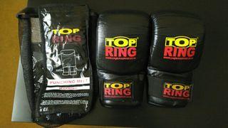 Guantes / guantillas piel Top Ring