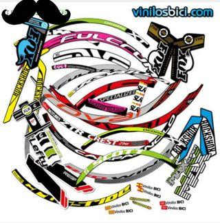 vinilos adhesivos para personalizar bici, pegatina