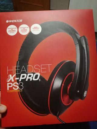 Cascos gaming - HeadSet X-Pro