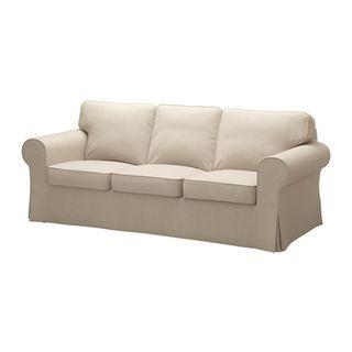 Sofa EKTORP IKEA. 3 plazas