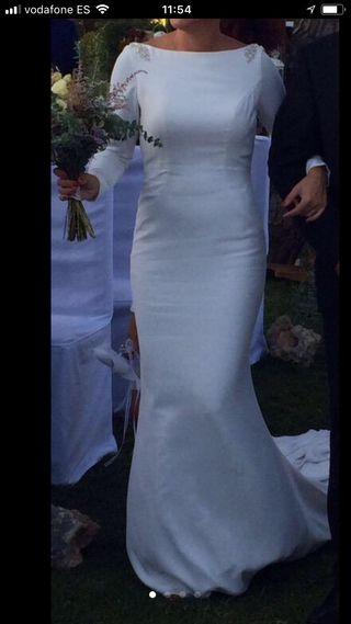 vestido de novia largos de segunda mano en huelva en wallapop