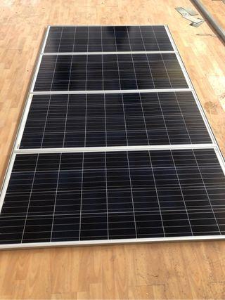 Placas solares con baterias
