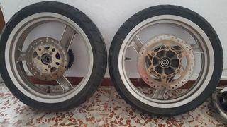 ruedas y mas piezas daelim roadwin 125 2006