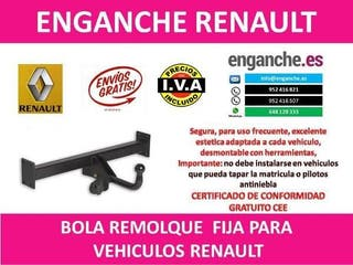 ENGANCHE RENAULT BOLA REMOLQUE