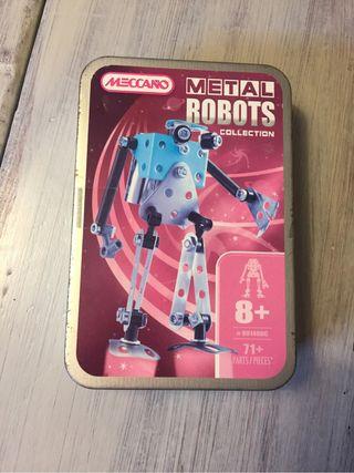 Robot MECCANO per muntar a peces