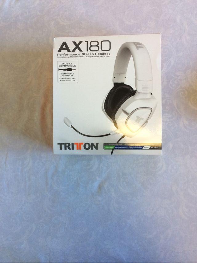Cascos TRITTON AX180 PS3
